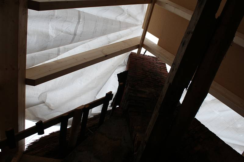 Haus Anna Elbe | Unser  alter  Dachstuhl - Haus Anna Elbe
